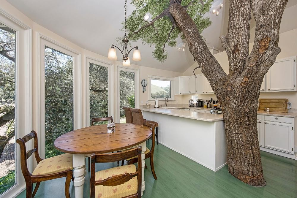 Oak Tree House kitchen